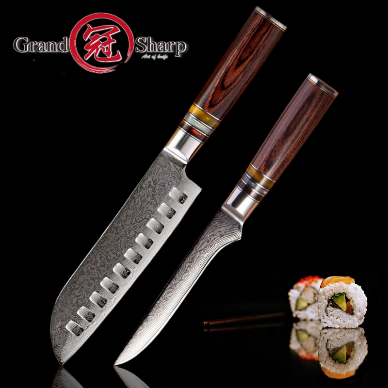 Industrial Kitchen Knives: Aliexpress.com : Buy 2 Pcs Kitchen Knife Sets Damascus