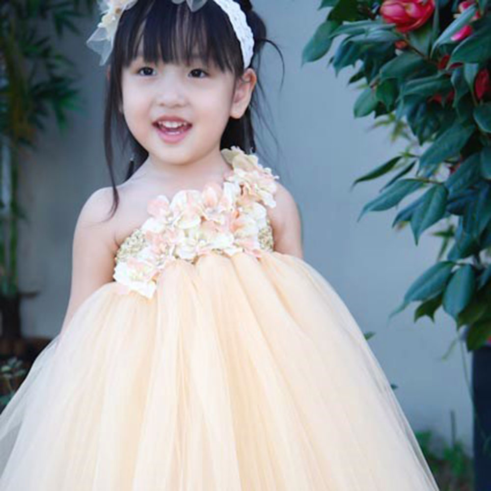 Cute Baby Flower Girl Tutu Dress For Wedding Cute Girl Tutu Dresses ...