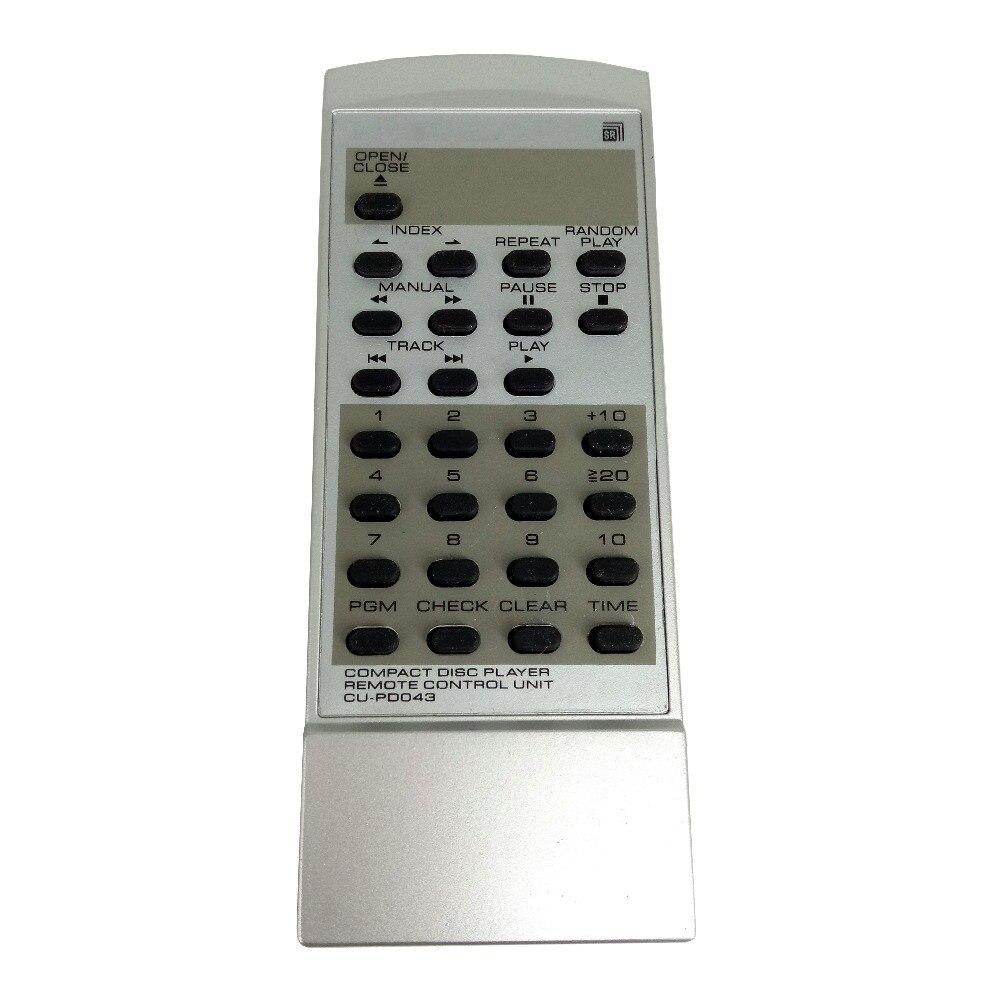 Nova Substitua Para Pioneer CD Player Controle Remoto Unidade CU-PD043 PWW1056 PD-202 Controlador Remoto