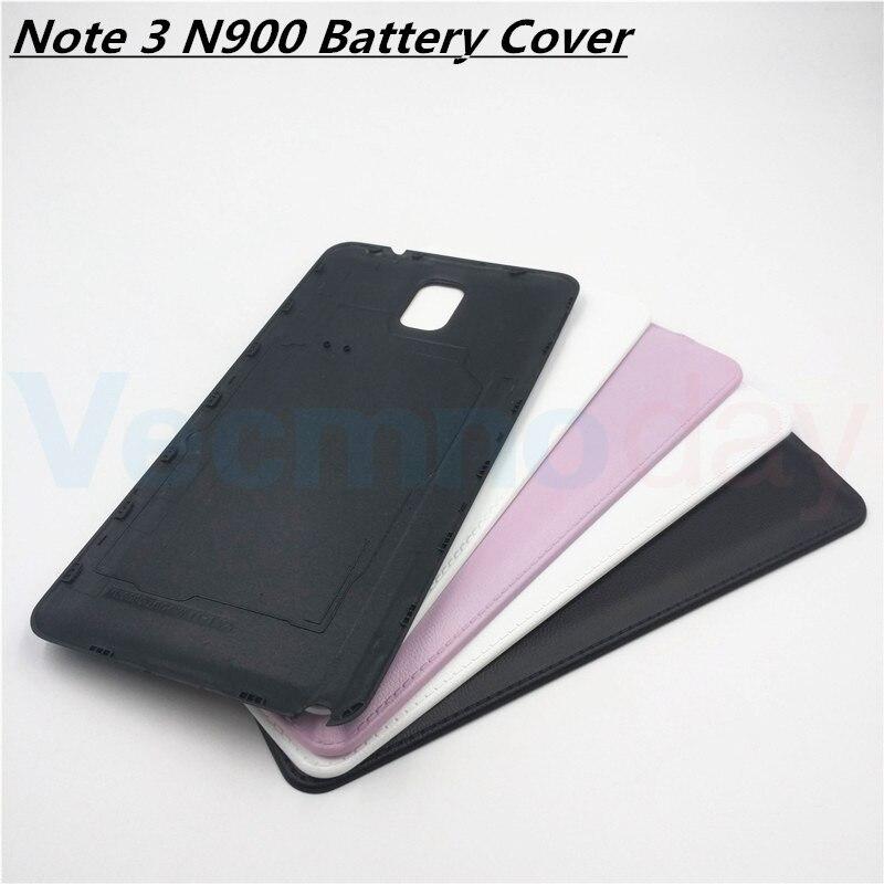 Vecmnoday Pour Samsung Galaxy Note 3 N9000 N9005 Remplacement Retour Couvercle de La Batterie Porte Arrière de Cas de Logement Pour Samsung Note 3