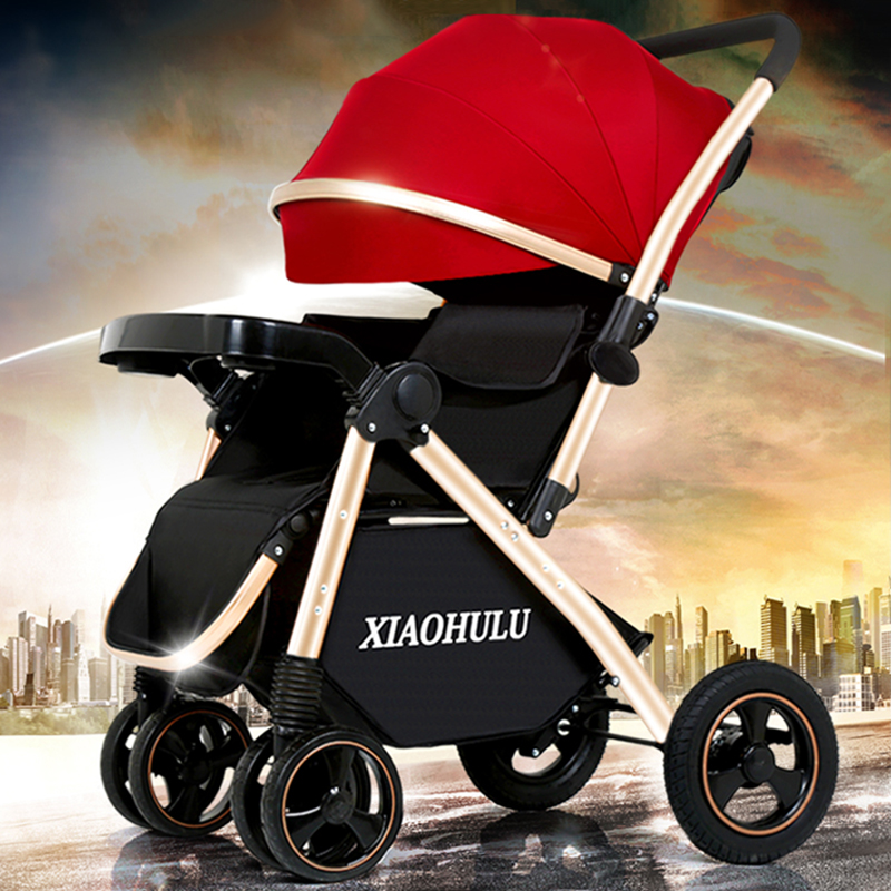 Bedora stroller can sit reclining lightweight folding high landscape shock absorbers baby stroller baby trolley free shipping baby strollers high landscape lightweight aluminum can sit reclining stroller shock absorbers bi fold trolley baby kinderwagen