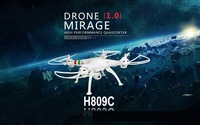 888 FE Hexacopter 6 Axis Gyro Quad Copter 4CH Hexacopter Headless Mode Toys Dron RTF Helicopter