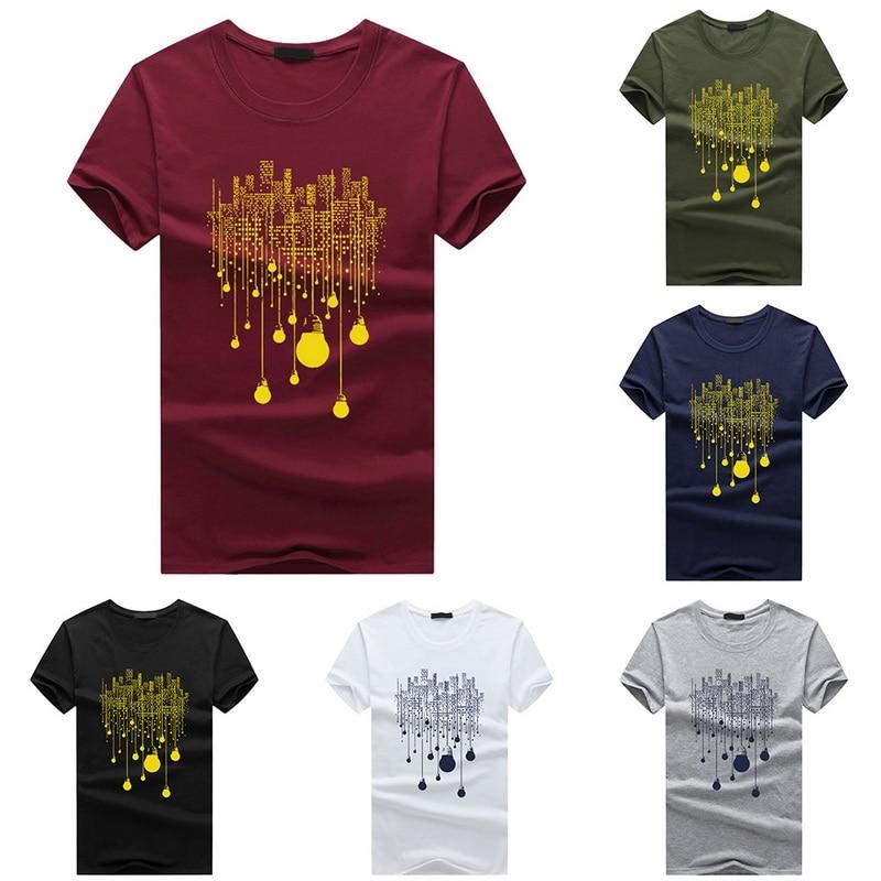 Nibersser 6xl Short Sleeve Men's Tee Shirts Slim Cool Casual Summer Tshirts Male Brand 2019 Cool Top Tees Printed Clothing Wear #5