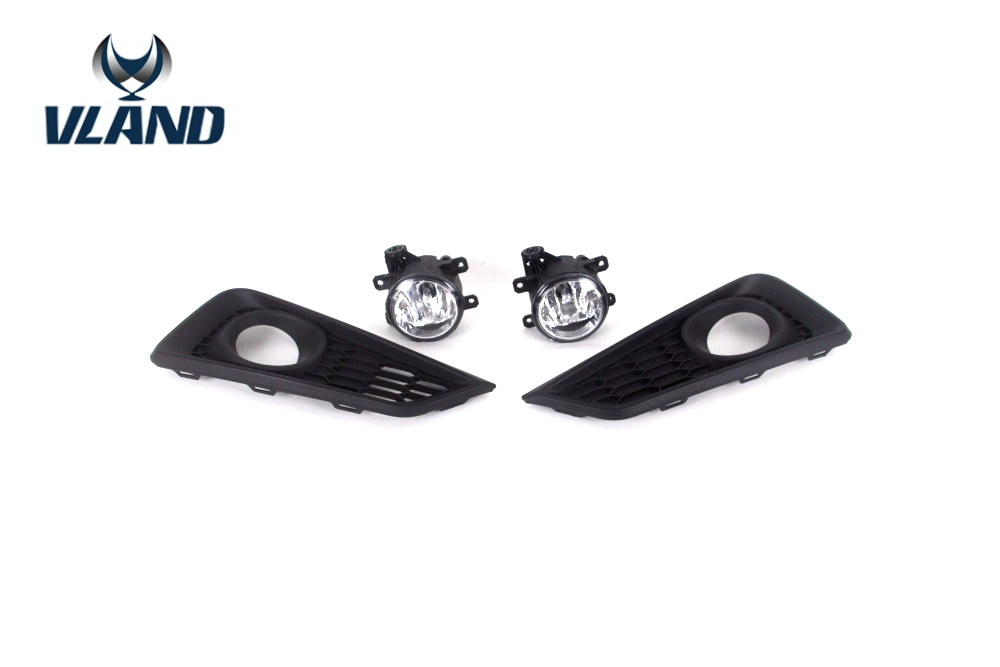 Free shipping For Honda City fog lamp 2014 to 2015 with fog lamp and fog lamp frame 2017 fvdi2 abrites commander for honda hds v3 016 with free j2534 drewtech software