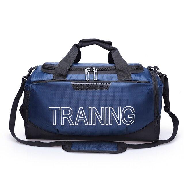 LEZAIJIONGTU Big Capacity Training Gym Bag Waterproof Sports Duffels Bag Fitness Bags Multifunction Shoulder Handbag Men Women