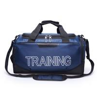 LEZAIJIONGTU Top Quality Training Gym Bag Waterproof Sports Bag Men Women Fitness Bags Durable Multifunction Outdoor