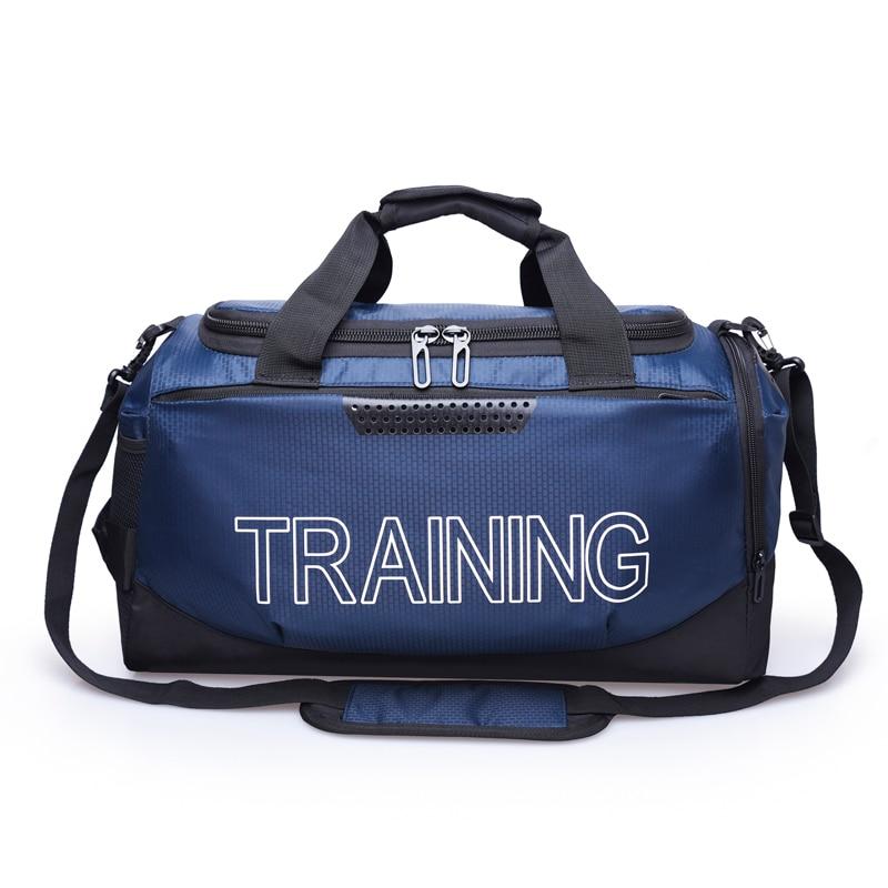 Lezaijiongtu большой Ёмкость Водонепроницаемая сумка для фитнеса тренировок спортивная дорожная сумка фитнеса многофункциональная сумка путешествий через плечо ручная дорожная сумочка