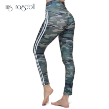 Women leggings Sporting Fitness Camouflage Pants Fitness Leggin Slim High Waist Pants Women Sportswear Workout Female