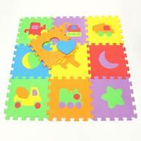 New Arrival 30 30cm 10pcs Set Puzzle Carpet Baby Play Mat Floor Puzzle Mat EVA Children