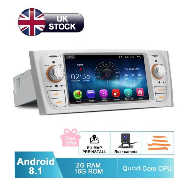 Android 8,1 автомобильный аудио видео для Fiat Grande Punto Linea 2007 2008 2009 2010 2011 2012 GPS навигация радио задняя камера без DVD
