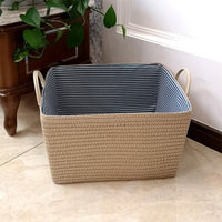 YEARNUO Storage Basket Environmentally friendly PP grass Dirty Laundry Basket Storage Baskets Home Decor Toys Storage Basket