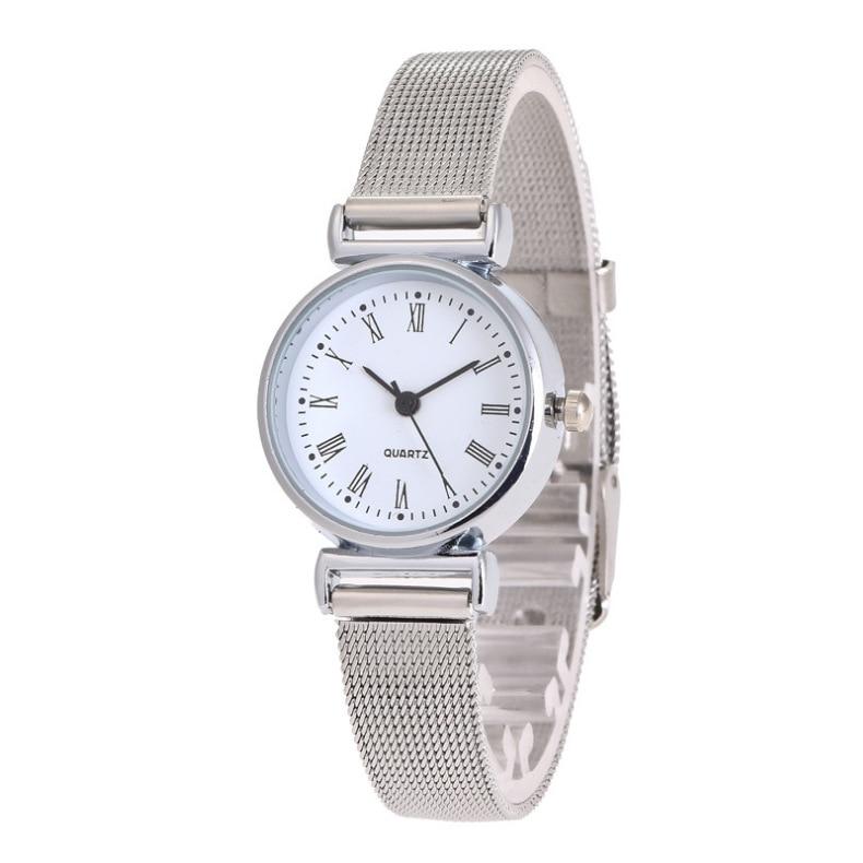 Quartz Watches Rational Hot Sales Fashion Mesh Belt Bracelet Watch Women Ladies Casual Dress Quartz Wrist Watch Relogio Feminino