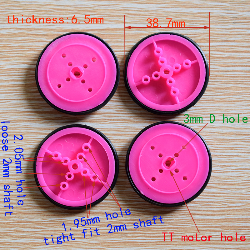 10pcs 39MM rubber wheel//tamiya/hot wheel/four-wheel drive wheel/Technology model parts/diy toy accessories/baby toys gift