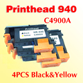 4x Black yellow printhead compatible for HP 940 940 officejet pro 8000 8500 8500A 8500A plus printer