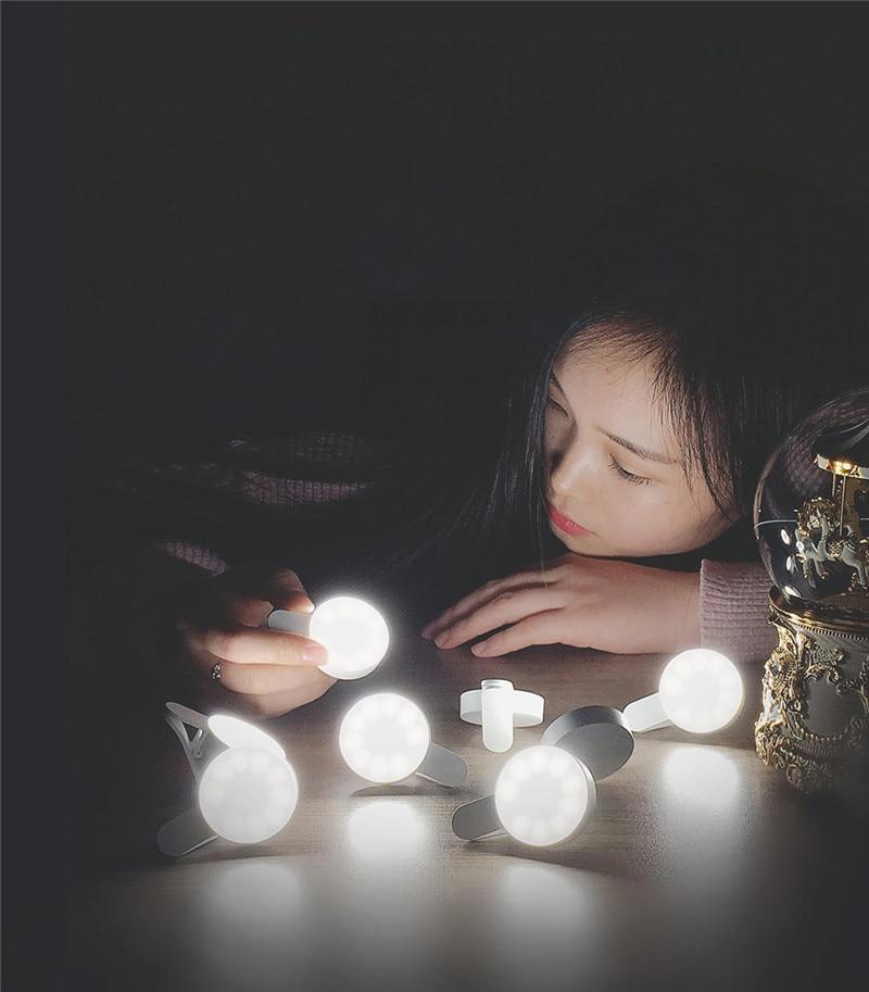 Original Xiaomi Mijia Yuemi Fill Led Light ( Mobile Phone Selfies ) For Xiaomi Smart Home Three Dimming  Minimalist Design (20)