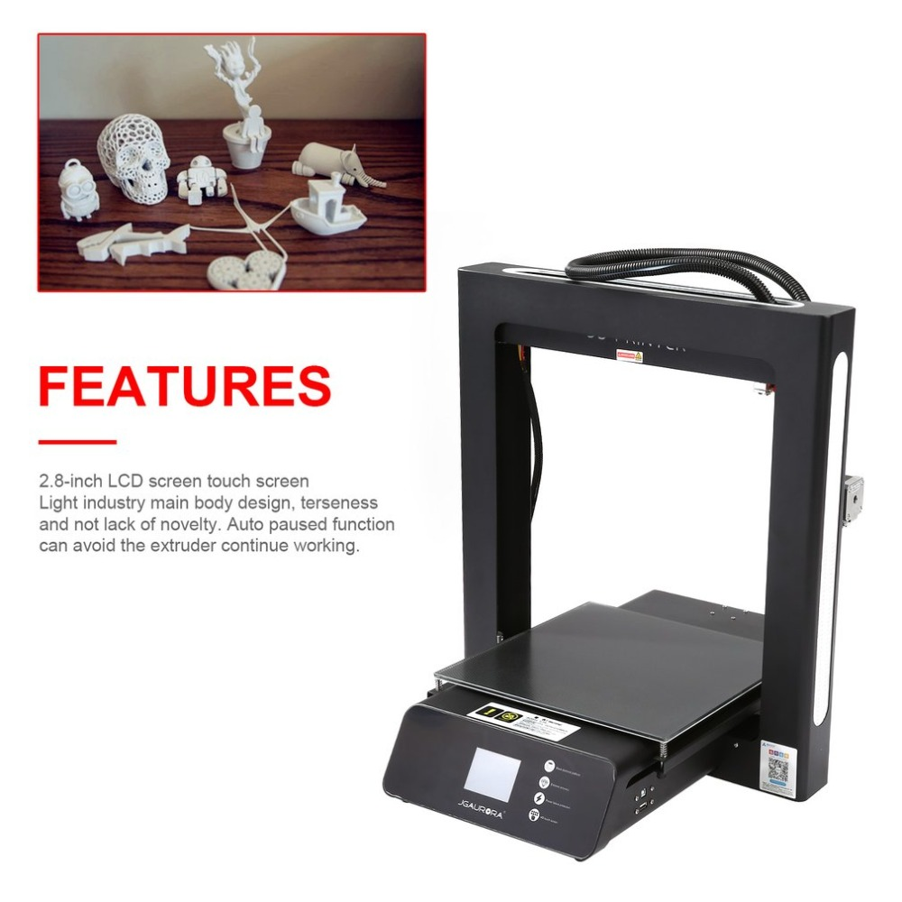 Professional 3D Printer High Precision 2 8 Inch HD Touch Screen Support USB Stick Mini Desktop