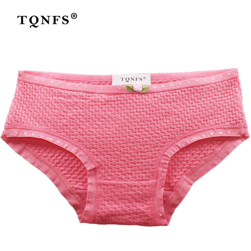 TQNFS Sexy Candy Color Cotton Casual Women Underwear Panties Low Rise Panties Women For Girls Fashion Hot Sale