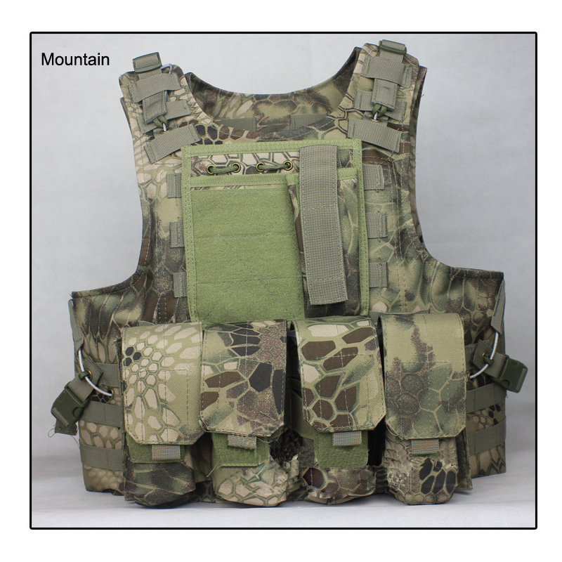 Mardrake Airsoft Tactical Vest / Outdoor Products Seal Camouflage High Quality Cs Counterterrorism Military Ves