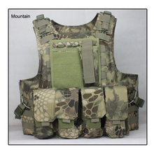 Mardrake Airsoft Tactical Vest outdoor products seal Camouflage High quality cs Counterterrorism Military Ves