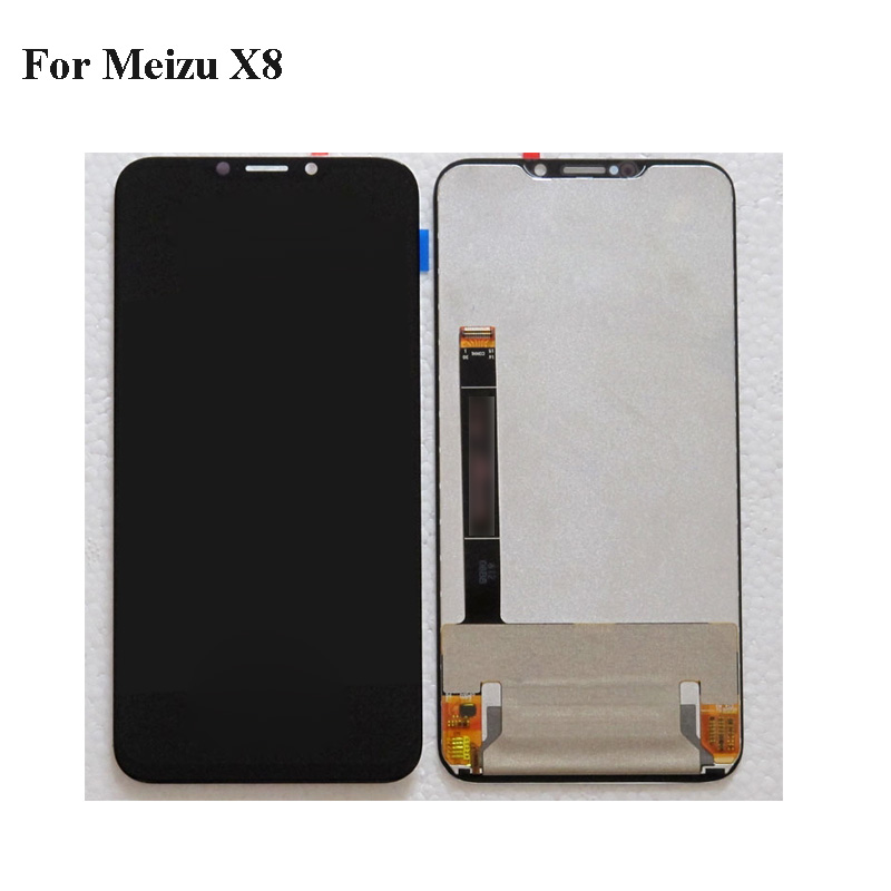 Black LCD+TP For Mei zu X8 X 8 LCD Display with Touch Screen Digitizer Smartphone Replacement MeizuX8 M852Q repair 6.2Black LCD+TP For Mei zu X8 X 8 LCD Display with Touch Screen Digitizer Smartphone Replacement MeizuX8 M852Q repair 6.2