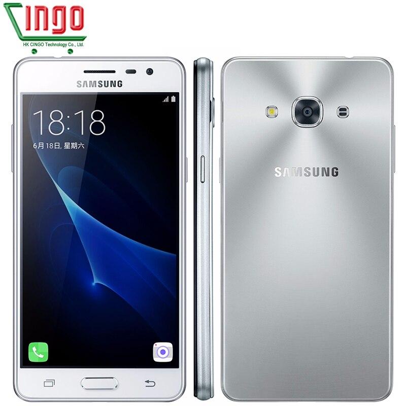 """Цена за Оригинальный samsung galaxy j3 pro j3110 4 г lte мобильный телефон snapdragon 410 quad core телефон dual sim 5.0 """"8.0MP NFC Смартфон"""