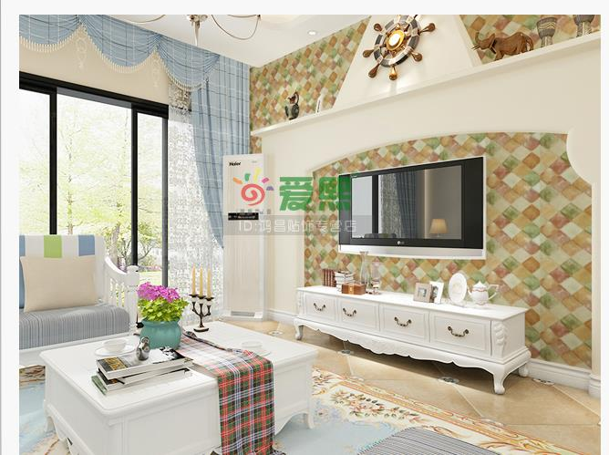 Simulation of pvc adhesive brick grain wallpaper brick for Wallpaper home renovation