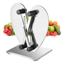 Portable Knife Sharpener System Professional Stainless Steel Household Non-Slip Grinder Kitchen Machine Tools 16