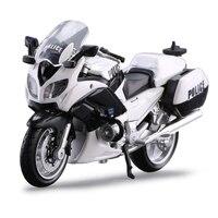 Maistoヤマハ警察オートバイおもちゃ1:18スケール
