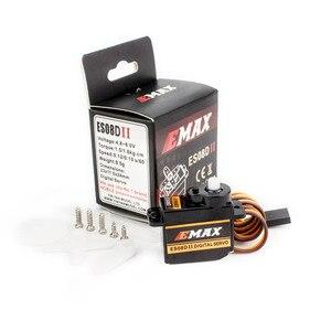 Image 4 - Ufficiale EMAX Servo EMAX ES08D II Micro Servo di Plastica Gear 1.8 kg/Sec RC servo Per RC Modelli