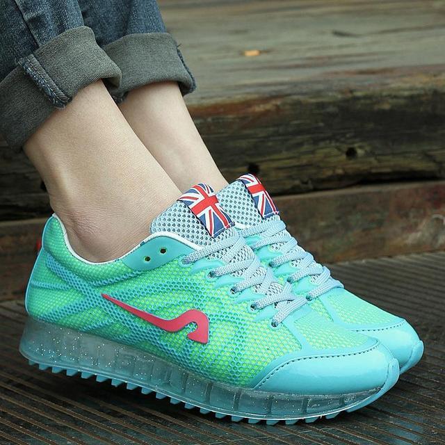 Aumento de la altura 2017 de Verano Zapatos de Las Mujeres Zapatos Casuales Zapatos de Deporte de Moda Zapatos Para Caminar deporte Mujeres Columpio Plataformas Shoes Transpirable