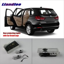 Liandlee Car Door Ghost Shadow Lights For BMW X5 E70 2007~2014 Courtesy Doors Lamp / Brand Logo LED Projector Welcome Light liandlee car door ghost shadow lights for acura mdx acura zdx courtesy doors lamp brand logo led projector welcome light