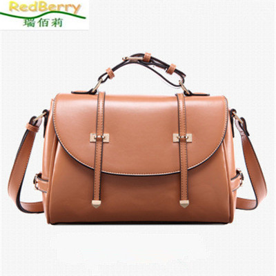 New Hot Women Bag European and American Style Handbag Shoulder Messenger Bag Genuine Brand Designer Leather Bag for Women bolsas  creative new brand women retro genuine leather shoulder bag european and american style woman bag postman package with rivets