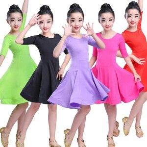 Image 1 - בנות קרנבל ג אז dancewear תלבושות ילדים מודרני סלוניים לטיני מסיבת ריקודי שמלת ריקוד ילד שמלה ללבוש בגדים עבור בנות