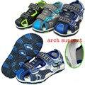 Súper Nueva llegada 1 par Moda Verano Sandalias de Los Niños Zapatos de cuero de LA PU, niños Zapatos de Bebé Suaves