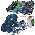 Super New arrival 1pair PU leather Fashion Summer Children Sandals Shoes, Kids Baby Soft Shoes