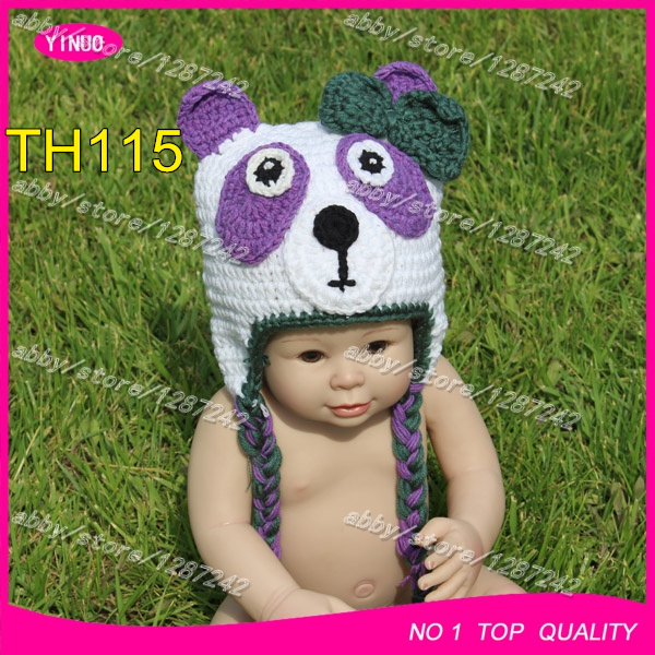5b0a2c5271f Fashion baby girls crochet bear hat panda cute beanie animal hat crochet  patterns