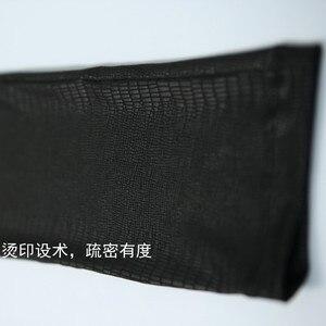 Image 4 - קוריאני אופנה גברים מכנסיים גבוהה אלסטי דק רך עירום ללבוש Experienc חותלות שיער מעצב מכנסי עיפרון ישר סקיני מכנסיים