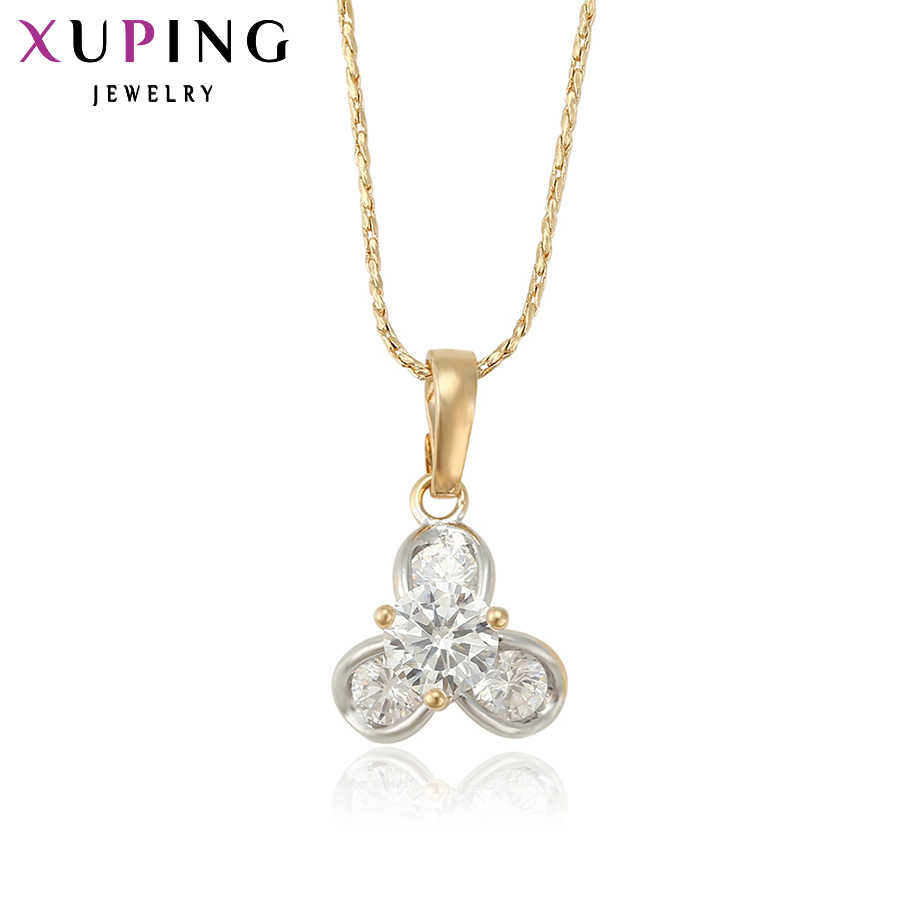 Xuping Fashion Pendant Exclusive Design High Quality Synthetic Cubic Zirconia Pendants Necklace Jewelry S3.5/ S34.2- 32239