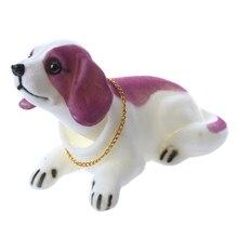 Auto carro Decoração Perfumado Saint Bernard Balançando A Cabeça Bobblehead Cães