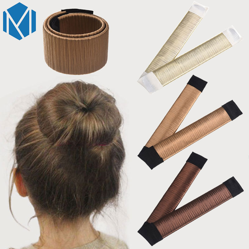 Hair Bun Maker Donut Styling Hair Fold Wrap Snap Accessories For Children Curler