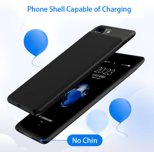 Image 2 - 100% 5000/7000mAh Battery Case For iPhone 6 s 6s 7 8 PowerBank Charging Case For iPhone 6 6s 7 8 Plus Battery Charger Case Cover