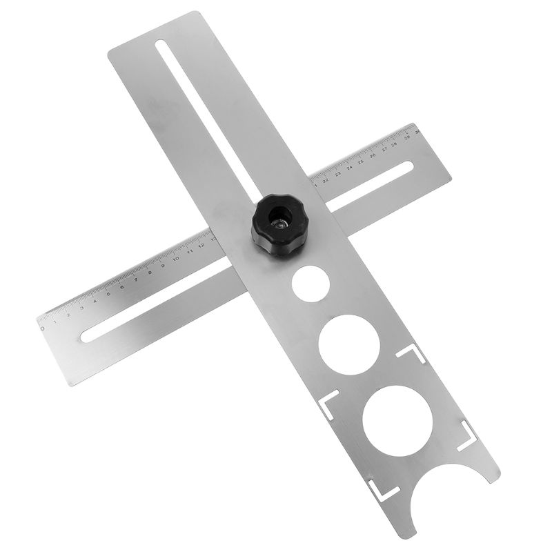 Multi-Functional Tile Locator Puncher Tapper Adjustable Tile Fixing Decoration Accessory Layout Tool For Building Construction