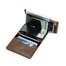 Baellerry Business Leather Men Wallets Credit Card Holder Pocket Male Money Bag Vintage Coin Short Purse Men Clutch Wallets W244