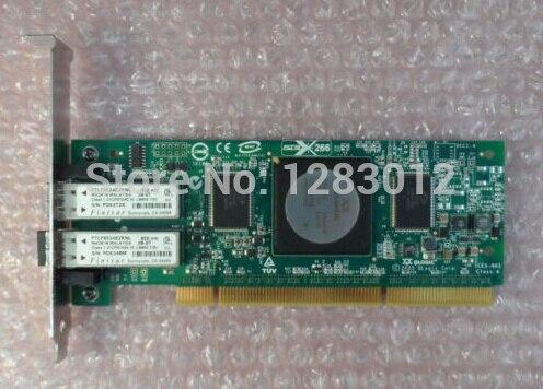 Подробнее о QLogic QLA2462 Dual-Port 4Gb/s FCPCI-X SP HBA Card For AE369A  418936-001 Original Well Tested Working one year warranty adapter network card for 49y7960 dual port 10gbe well tested working