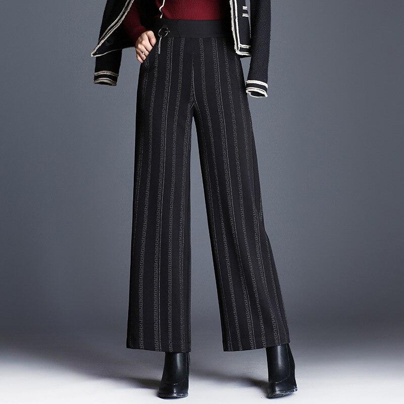new 2019 korean style women harajuku solid color velvet streetwear corduroy high waisted plus. Black Bedroom Furniture Sets. Home Design Ideas