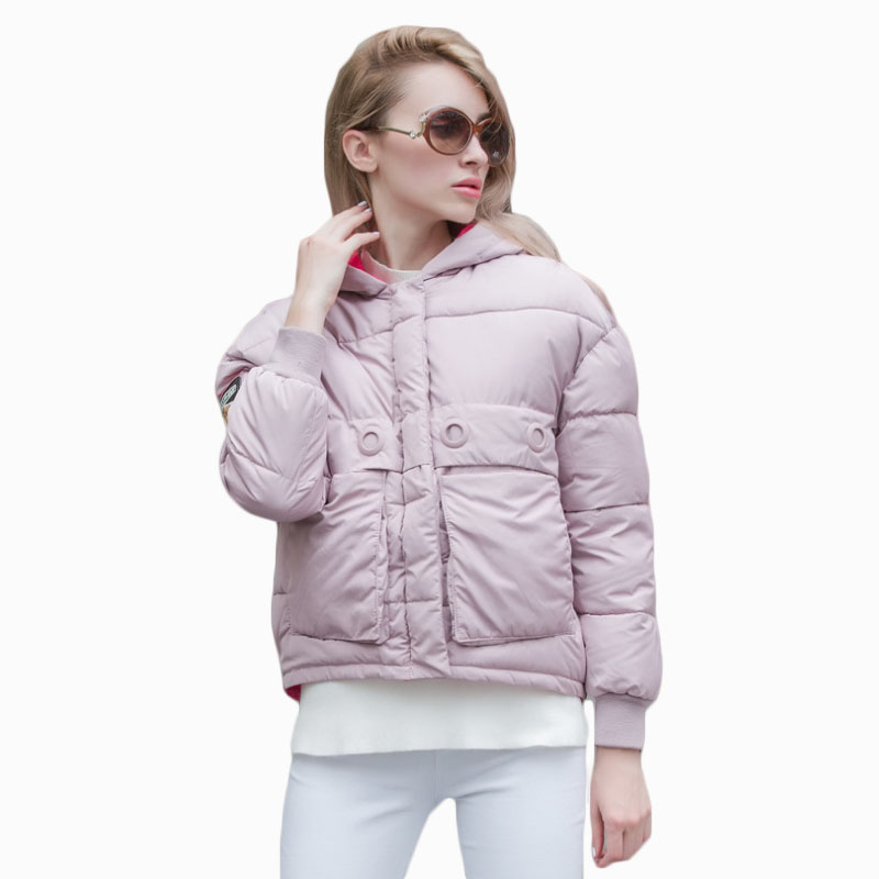 2017 NEW HOT SALE PLUS SIZE WOMEN WINTER JACKER THICKEN HOODED WARM FEMALE PARKAS COTTON WADDED COAT ZL814