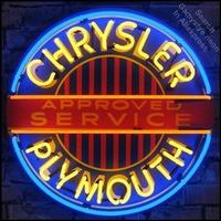Mopar Chrysle plymouth Neon Sign decorazione Tubo di VETRO Artigianato Garage Luce Segni personalizzato logo del marchio personalizzato di Arte lampade al neon-in Lampade al neon e tubi da Luci e illuminazione su