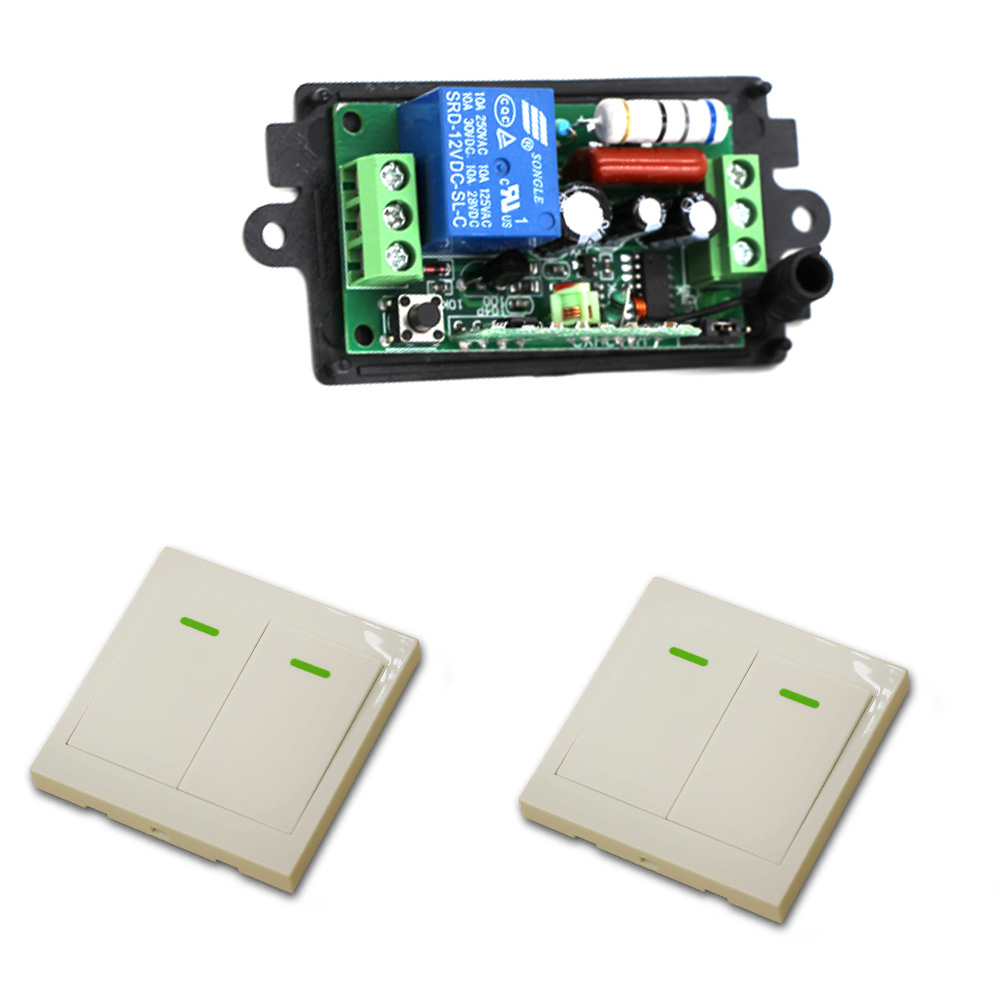 110V/220V Wireless Remote Control Switch Wireless Power Relay Receiver Transmitter Radio Light Switch Smart house