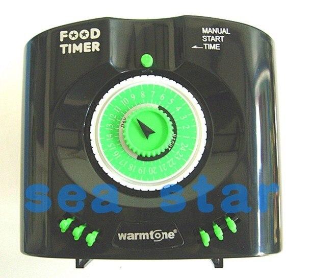 New automatic aquarium tank automatic fish feeder timer for Fish feeder timer