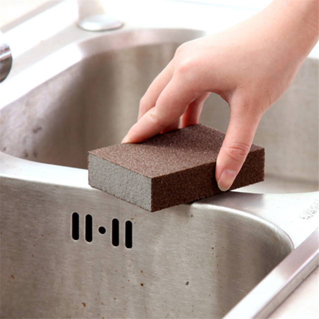 1PC Nano Sponge Magic Eraser for Removing Rust Cleaning Cotton Kitchen Gadgets Accessories Descaling Clean Rub Pot Kitchen Tools 3